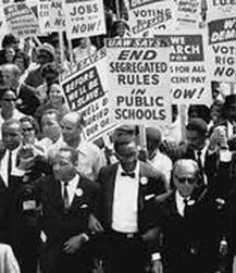 the main events of the turbulent 1950s cold war and the civil rights movements